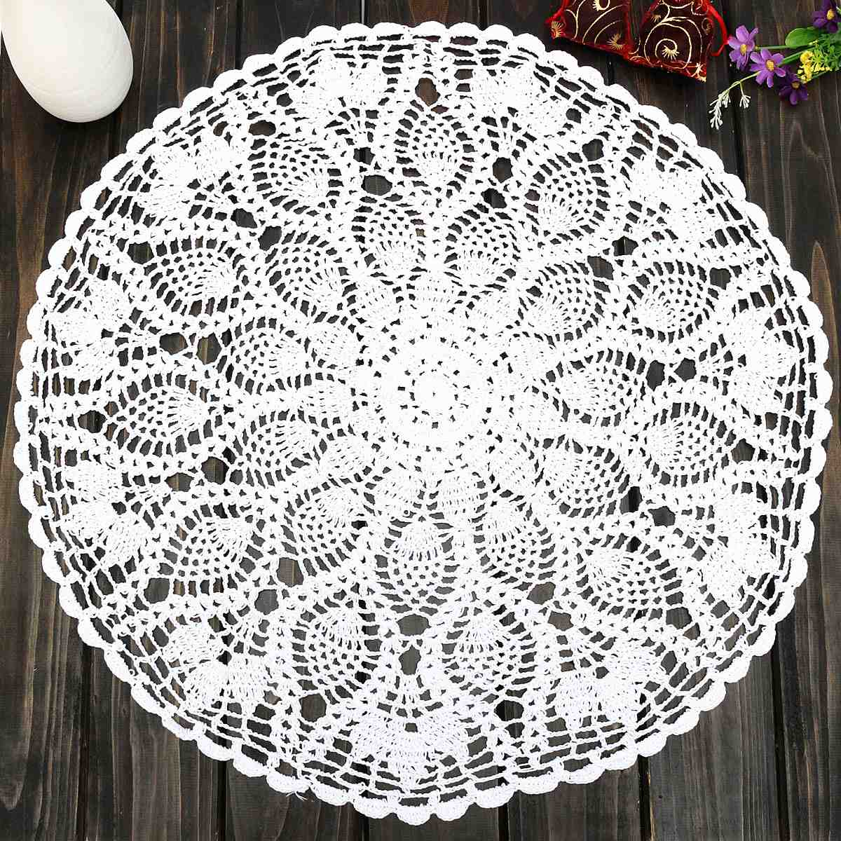 Vintage-23-Round-Cotton-font-b-White-b-font-Feather-Hand-font-b-Crochet-b-font