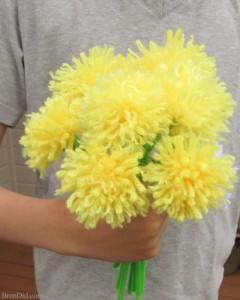 How-to-make-tassel-flowers-dandelion-36