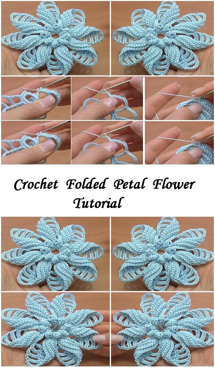 folded petal flower