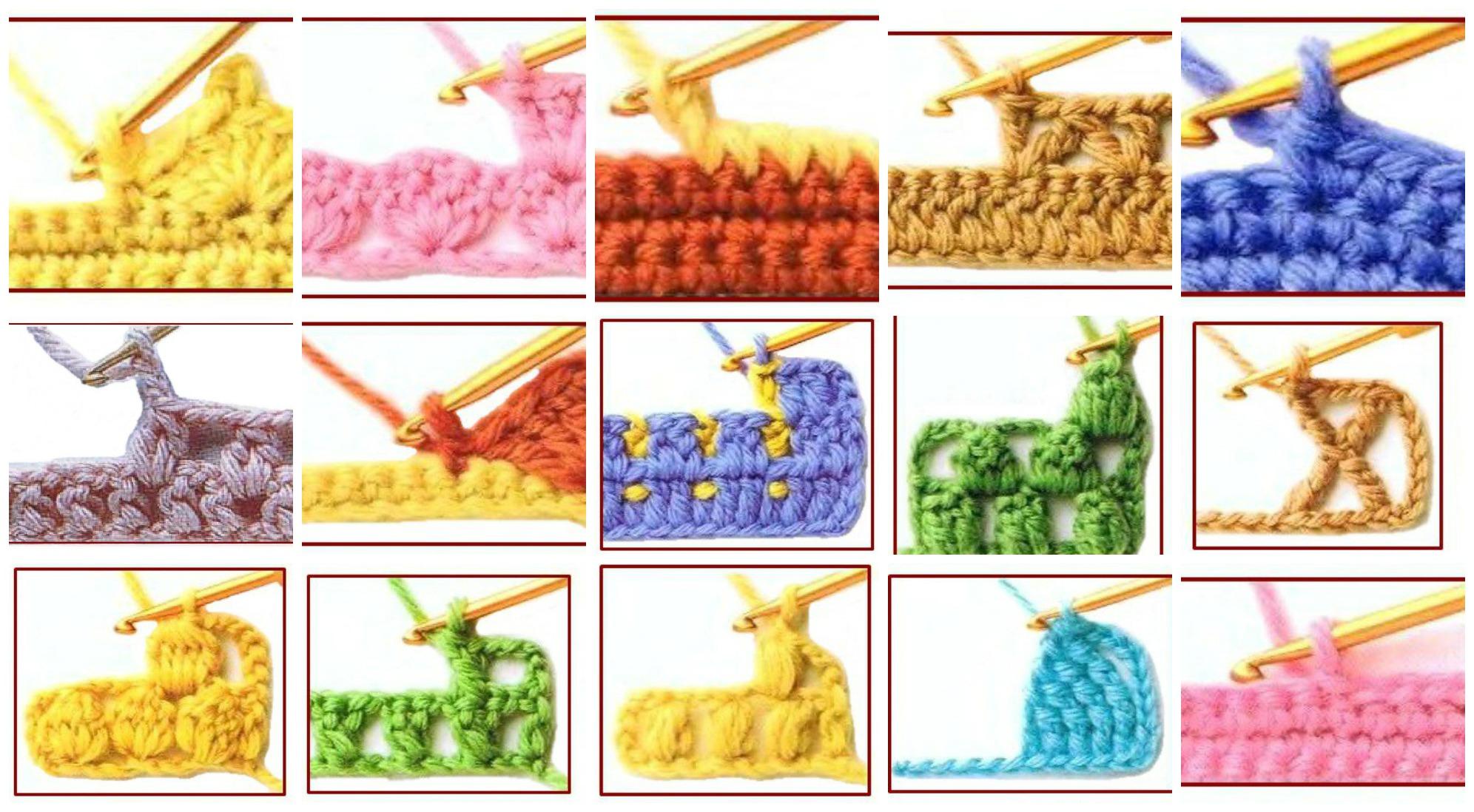100 Crochet Stitch Symbols Design Peak