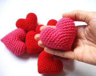 Crochet Pattern Amigurumi Turtle Crochet Keychain : Crochet 3D Heart Tutorial Design Peak
