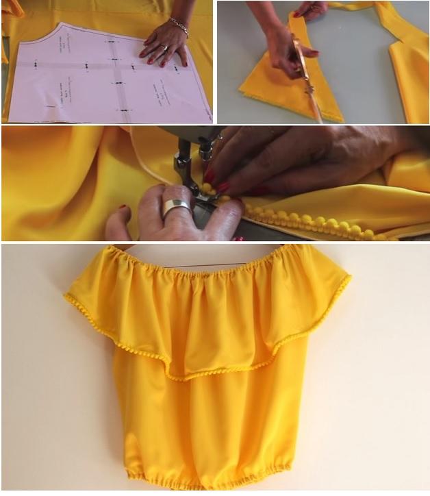 DIY sewing Blouse