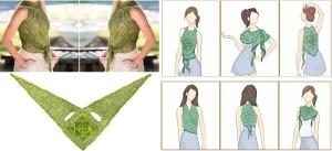 Different Ways to wear scarf