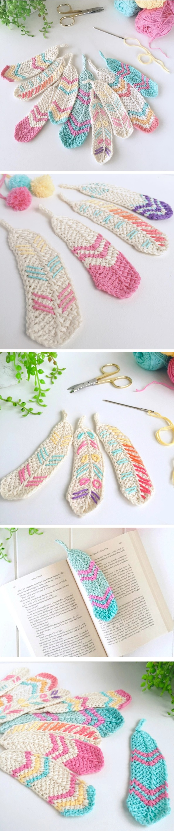 Crochet FeatherTutorial