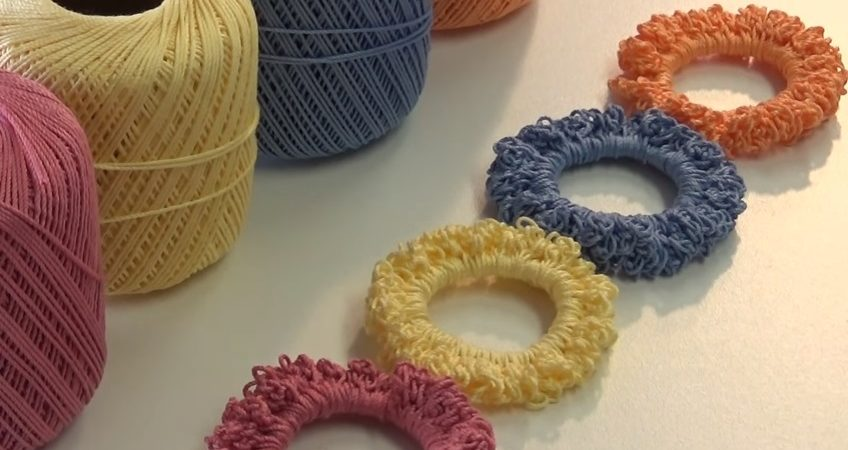 Crochet hair tie very easy and super fast design peak crochet hair tie very easy and super fast ccuart Image collections