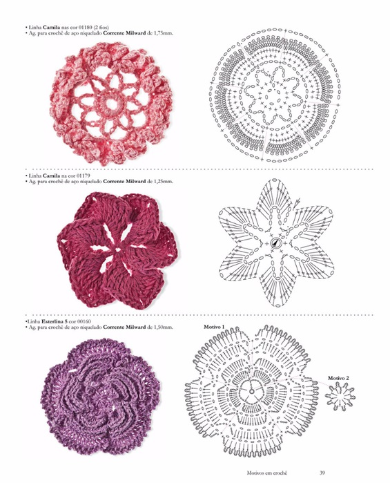 Knitting Embroidery Lessons : Flower tutorials knitting embroidery videos and lessons