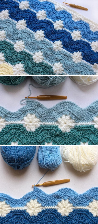 Crochet Daisy Chane Blanket