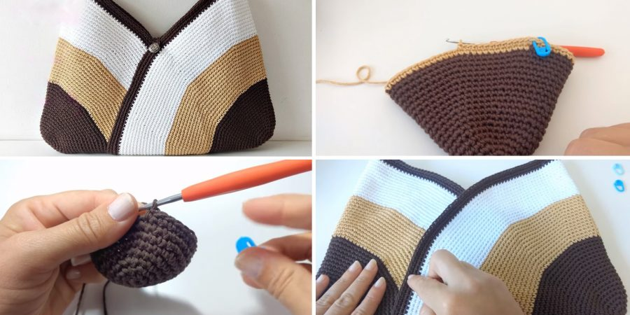 Crochet Bag Easy Design Peak