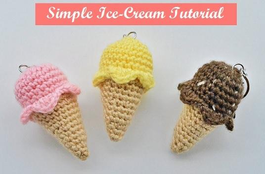 Ice Cream Snowman crochet pattern - Amigurumi Today | 352x536