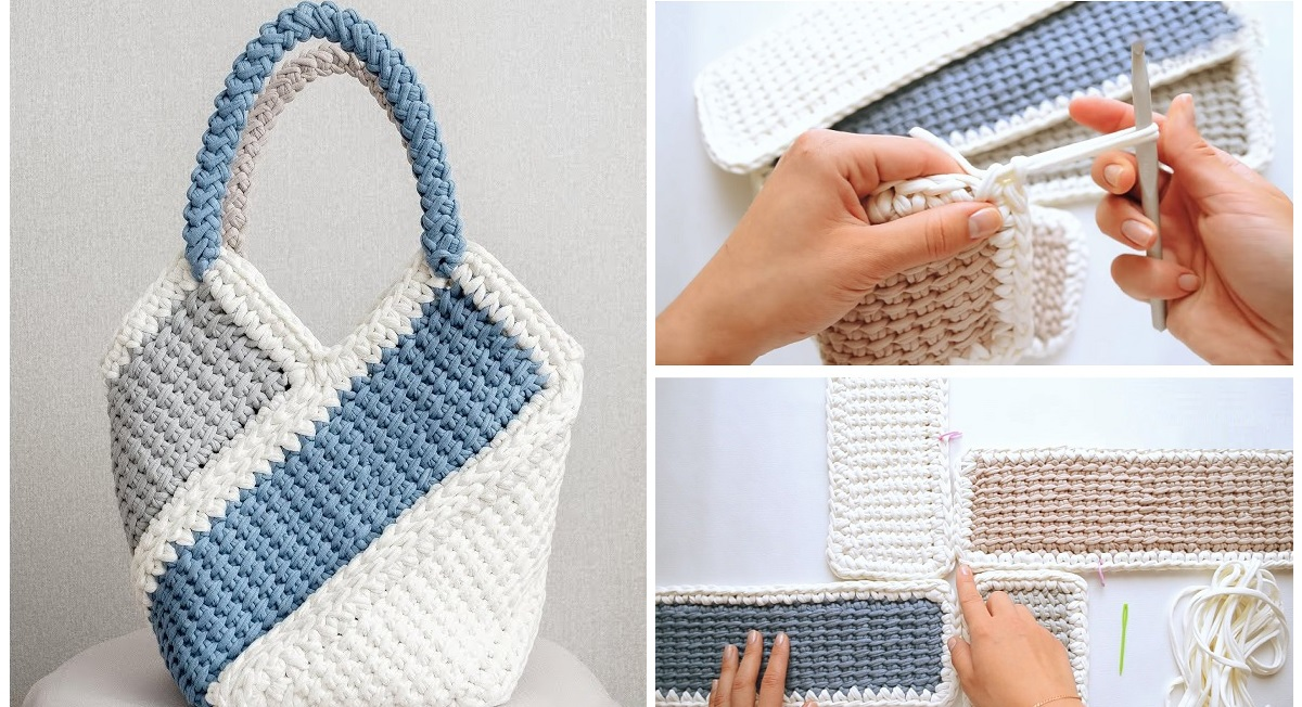 Pretty Bag Crochet Tutorial Design Peak