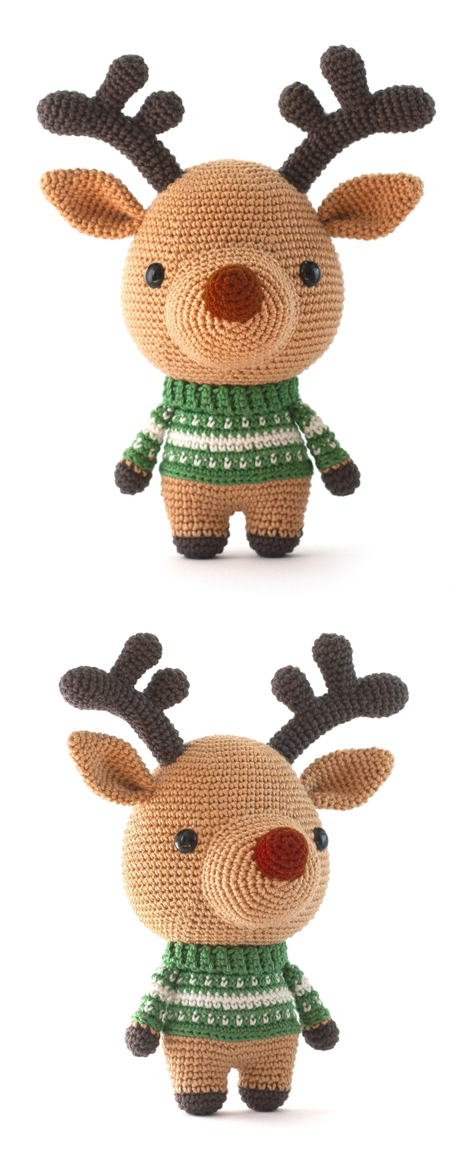 Christmas deer amigurumi pattern | Patrones amigurumi, Amigurumi ... | 3848x1584