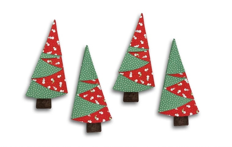 DIY Tutorial – Fabric Christmas Tree