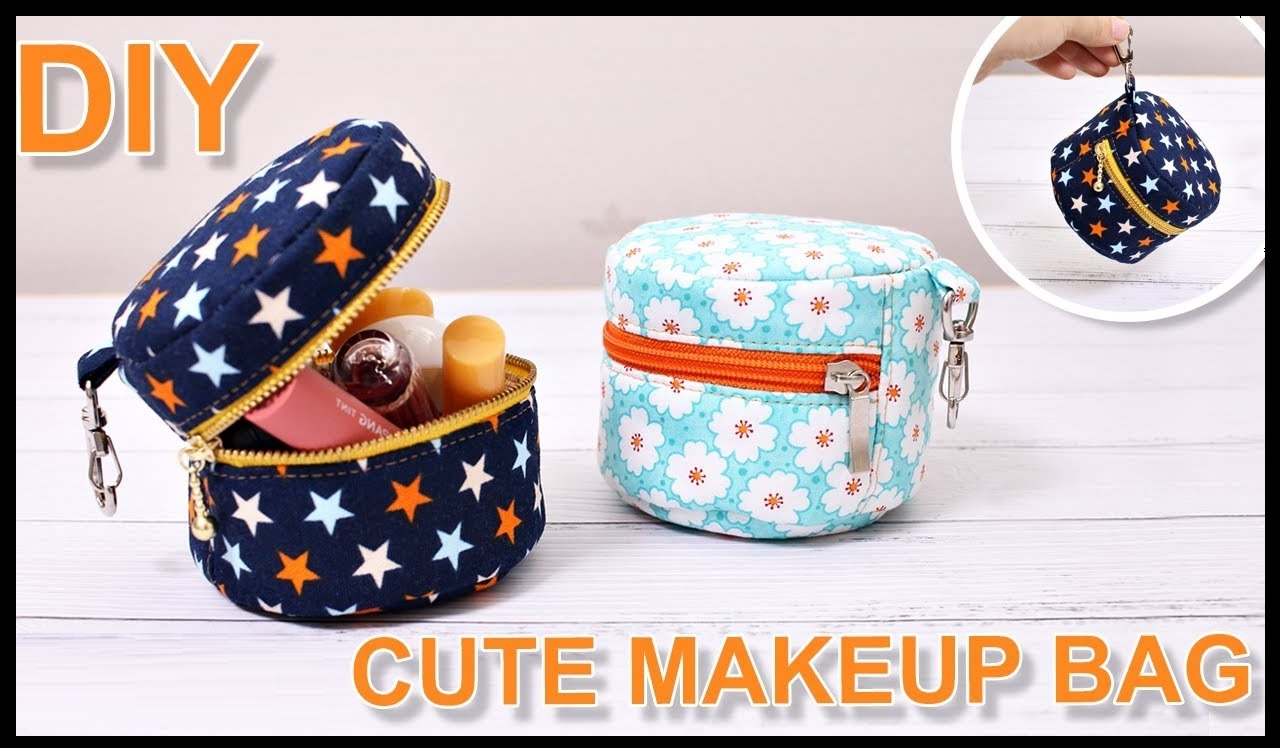 DIY Small Makeup Bag
