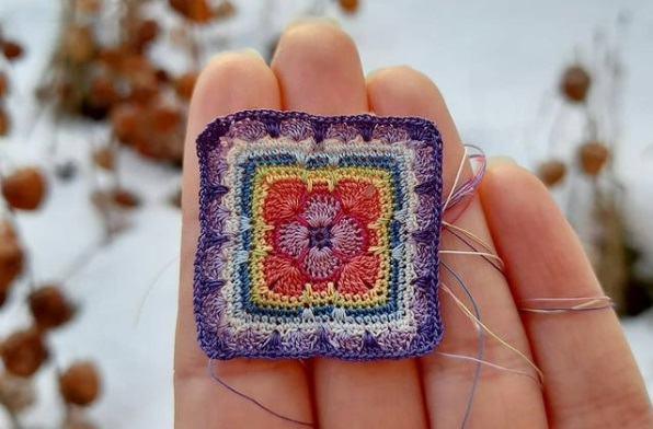 Crochet Tiny Square