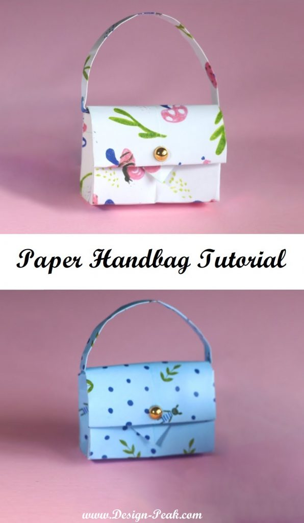 Paper Handbag Tutorial