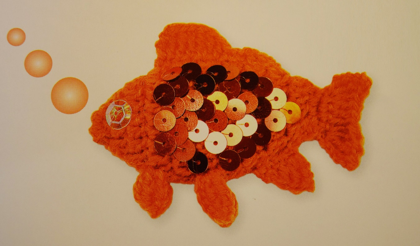 Goldfish Parrotfish Seahorse 3 Crochet Patterns Design Peak