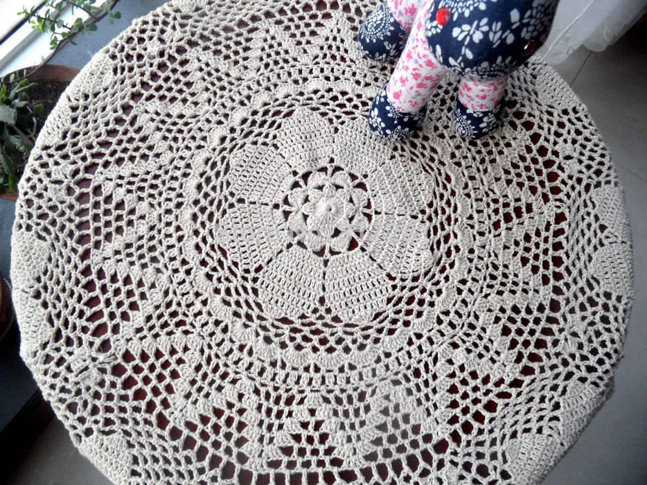 free-shipping-zakka-Beige-and-white80cm-round-cotton-font-b-crochet-b-font-font-b-tablecloth