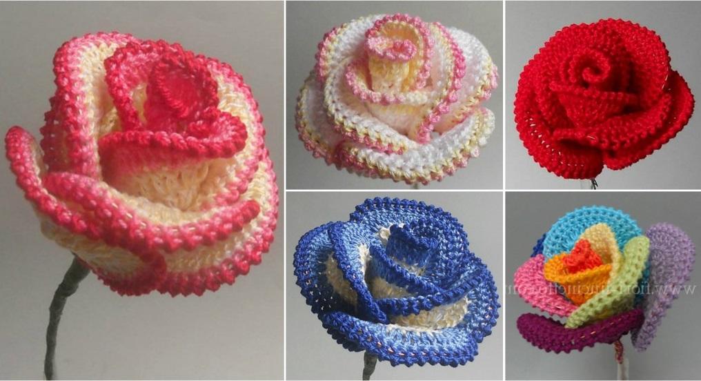 How To Crochet The Perfect Rose Design Peak