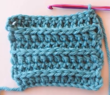 Crochet Ribbed Knit Stitch – Free Tutorial