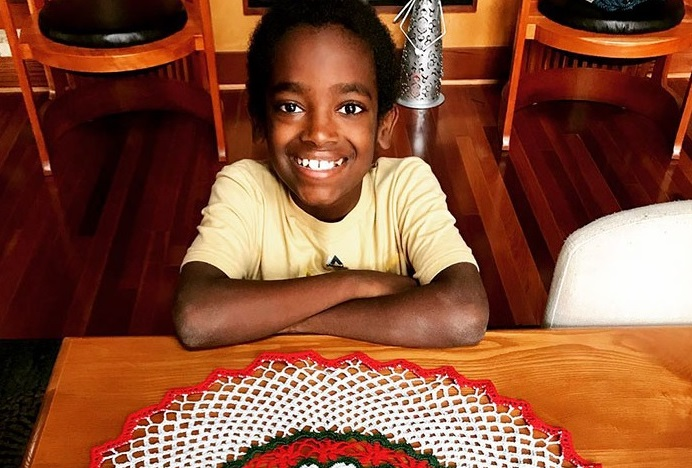 11 Year Old Crochet Wiz