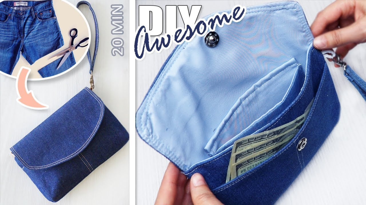Purse from Jeans Tutorial