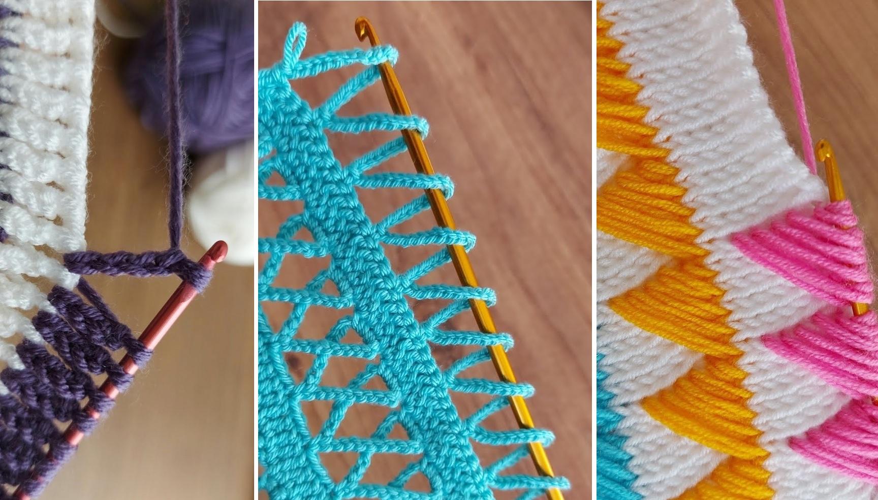 Super Easy Tunisian Stitch – Crochet Tutorial